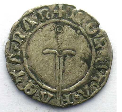 1552 Demi gros ou sou de guerre non datée