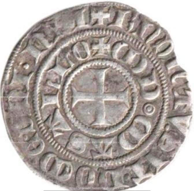 Tiers de gros frappe sous thierry v de boppart 1365 1384 a marsalr